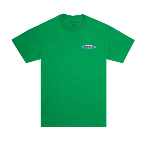 Fucking Awesome Rain T-Shirt (Irish Green)