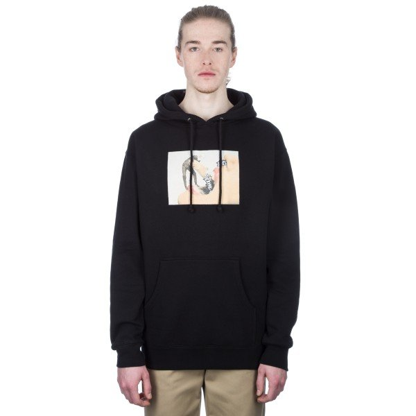 Fucking Awesome Septum Pullover Hooded Sweatshirt (Black)
