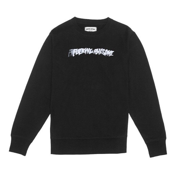 Fucking Awesome Stamp Crew Neck Sweatshirt (Black)