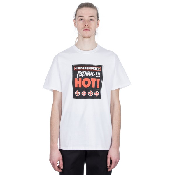Fucking Awesome x Independent Fucking Hot T-Shirt (White)