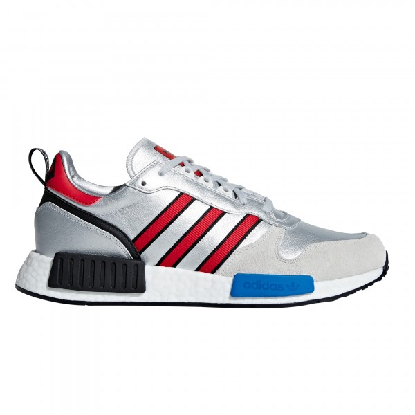adidas Originals Rising Star x R1 'Never Made' (Silver Metallic/Collegiate Navy/Footwear White)