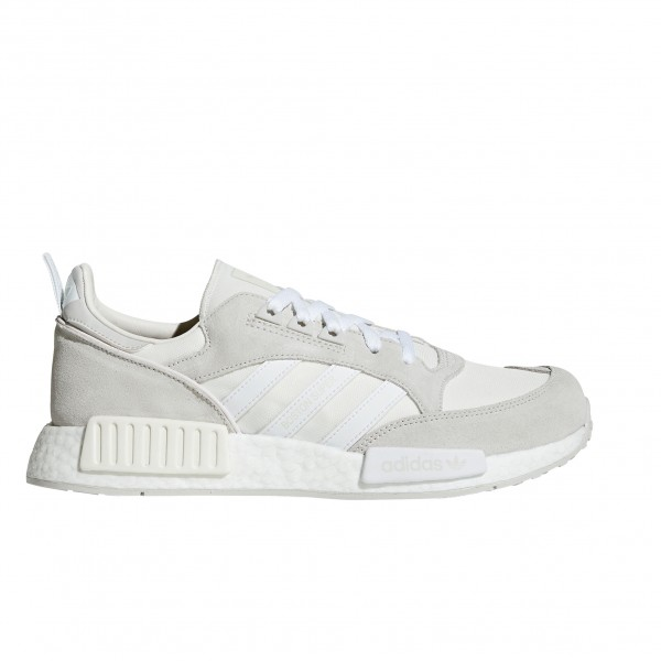 adidas Originals Boston Super x R1 'Never Made Triple White Pack' (Cloud White/Footwear White/Grey One)