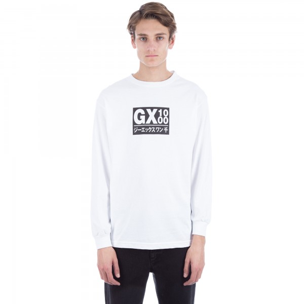 GX1000 Japan Long Sleeve T-Shirt (White)
