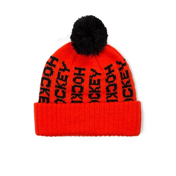 Hockey Ball Beanie (Red)