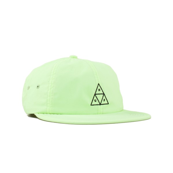 HUF Formless Triple Triangle 6 Panel Cap (Lime)