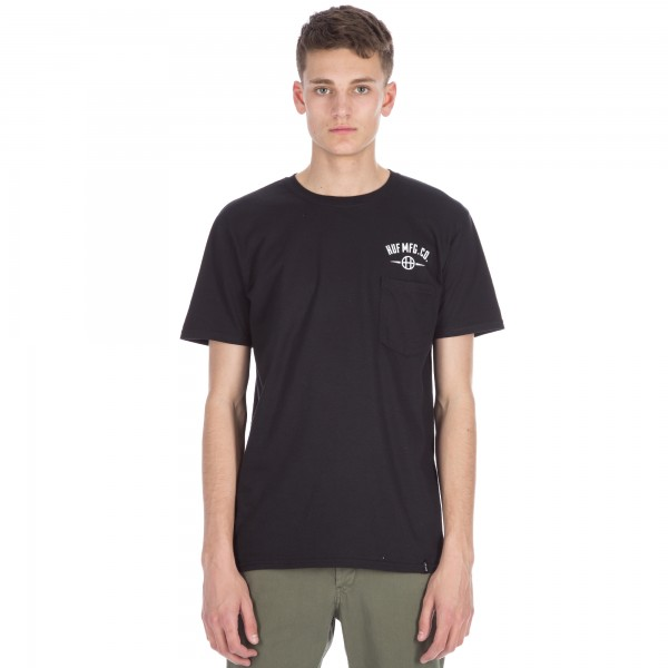HUF MFG Station T-Shirt (Black)