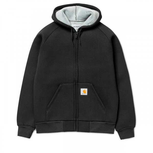 Carhartt Car-Lux Hooded Jacket (Black/Grey)