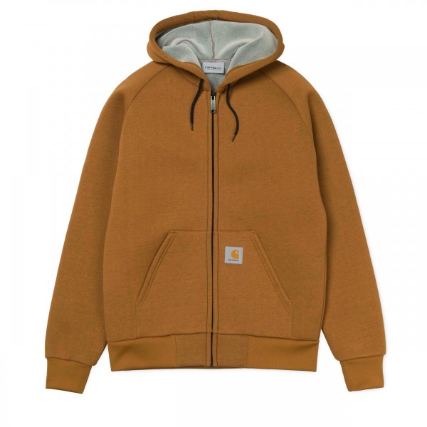 Carhartt Car-Lux Hooded Jacket (Hamilton Brown)