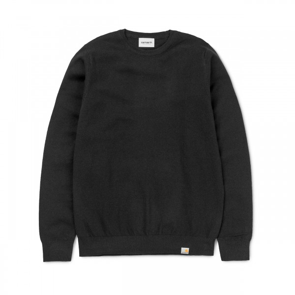 Carhartt Playoff Knitted Sweater (Black)