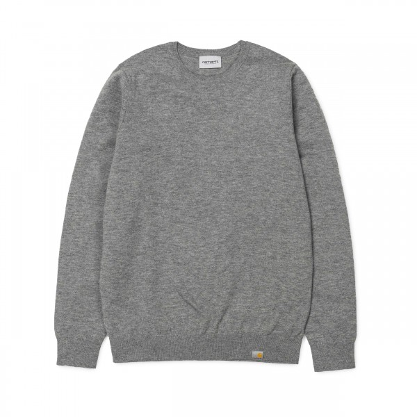 Carhartt Playoff Knitted Sweater (Dark Grey Heather)