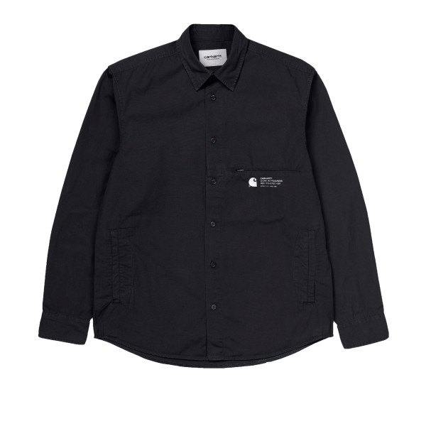 Carhartt Coleman Long Sleeve Shirt (Black/Wax)