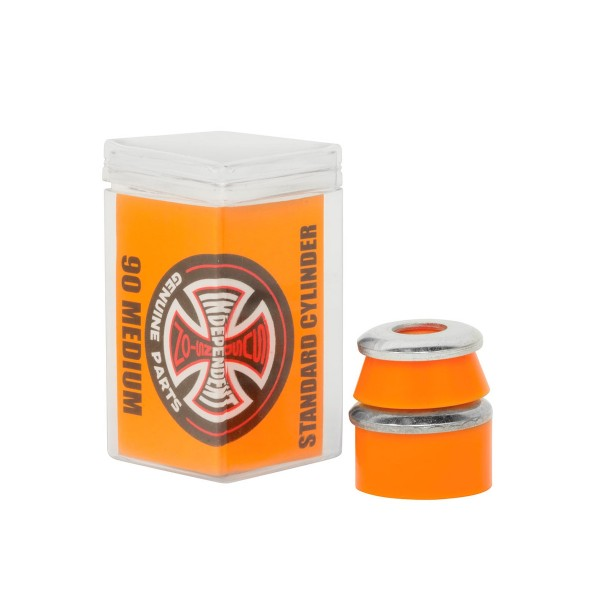 Independent High Rebound Standard Cylinder Medium 90A Bushings (Orange)