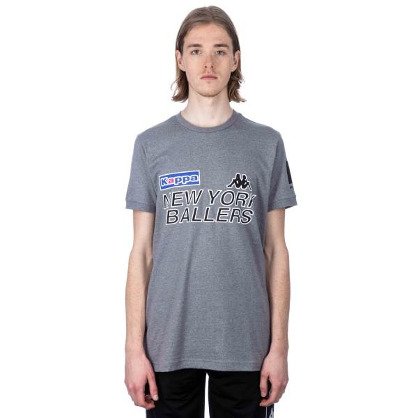 Kappa Kontroll Ballers T-Shirt (Grey Mid Melange)