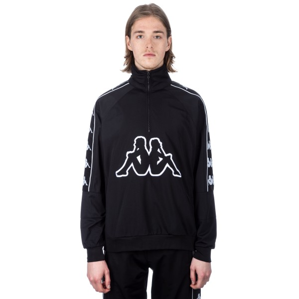 Kappa Kontroll Half-Zip Banda Jacket (Black)