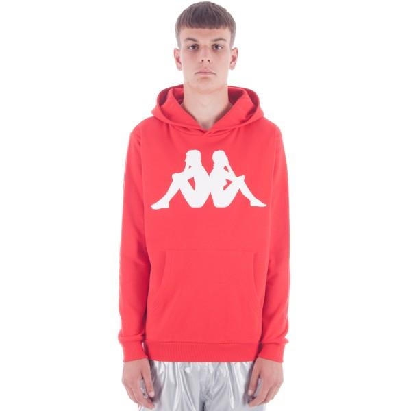 Kappa Kontroll LA.84 Omni Pullover Hooded Sweatshirt (Red)