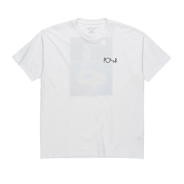 Polar Skate Co. Midnight Snake T-Shirt (White)