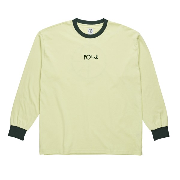 Polar Skate Co. Offside Long Sleeve T-Shirt (Green)
