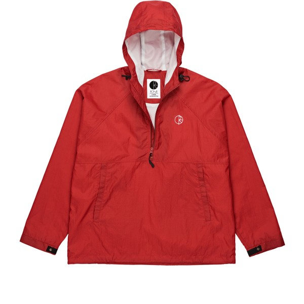 Polar Skate Co. Ripstop Anorak Jacket (Red)
