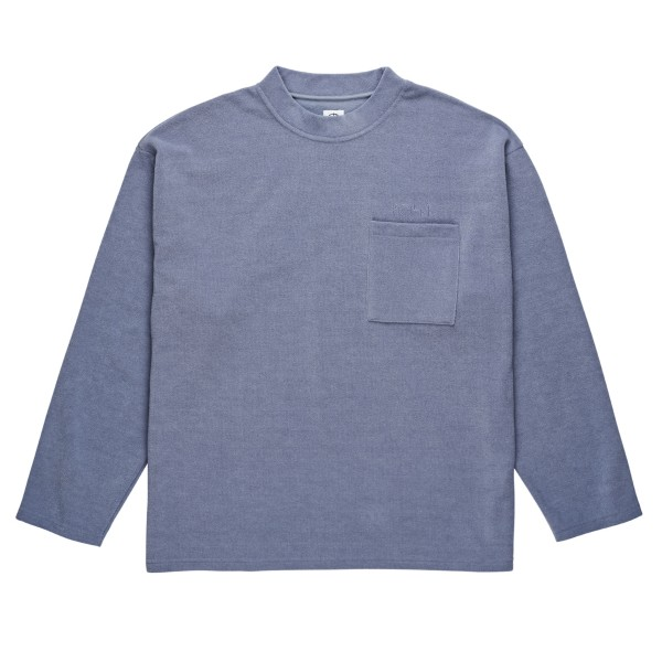 Polar Skate Co. Terry Pullover (Sky Blue)