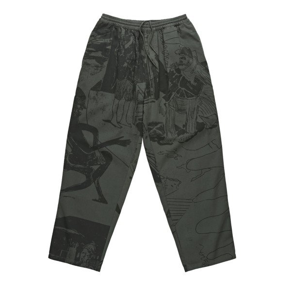 Polar Skate Co. TK Surf Pants (Grey Green)