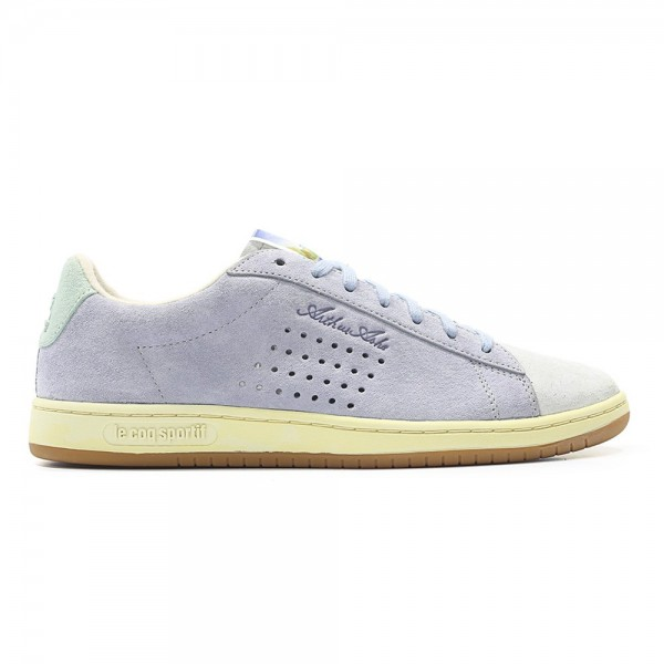 Le Coq Sportif Arthur Ashe 'Retro Affiches Pack' (Dusty Blue)