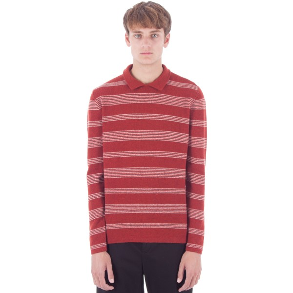 Levi's Vintage Clothing Knit Shirt (Red Wool Multi)