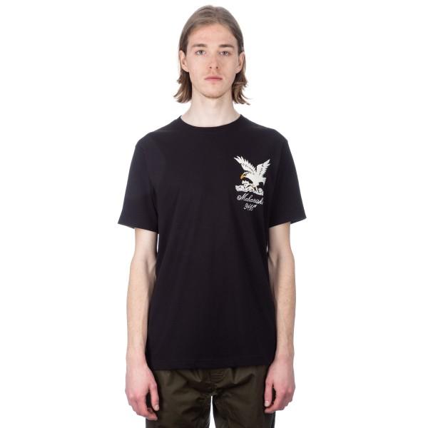 Maharishi Maha Eagle Chest T-Shirt (Black)