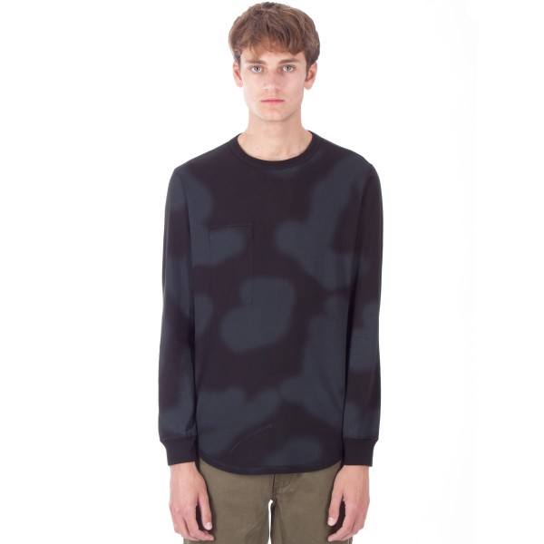 Maharishi Reversible Long Sleeve T-Shirt (Night British Haze)