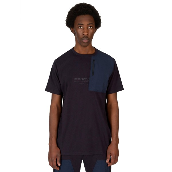 Maharishi Tech Travel T-Shirt (Navy/Indigo)