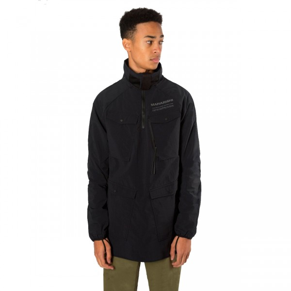 Maharishi Travel Cargo Light Jacket (Black)