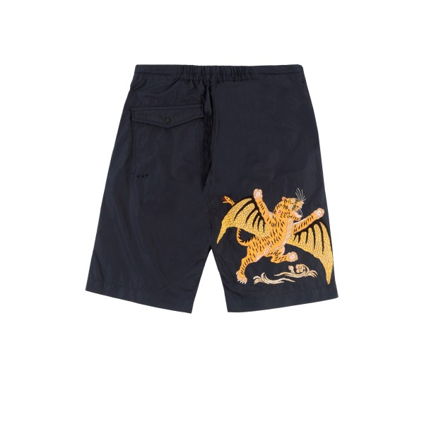 Maharishi Wise Tygers Snoshorts 55 (Navy Tygers of Darkness Embroidery)