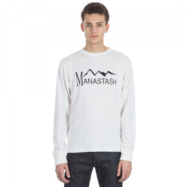 Manastash Hemp Long Sleeve T-Shirt (White)