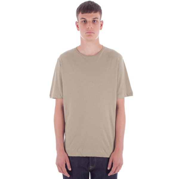 MHL by Margaret Howell Basic T-Shirt (Pale Khaki)