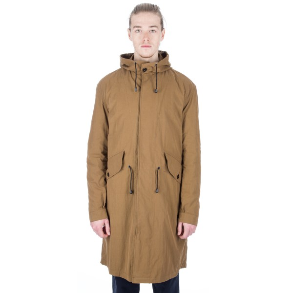 MHL by Margaret Howell Fishtail Parka (Ochre)