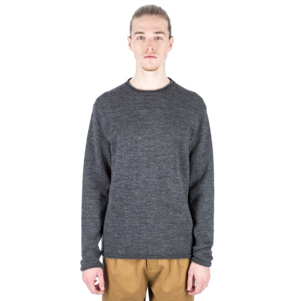 MHL by Margaret Howell Rolled Edge Jumper (Mid Grey)