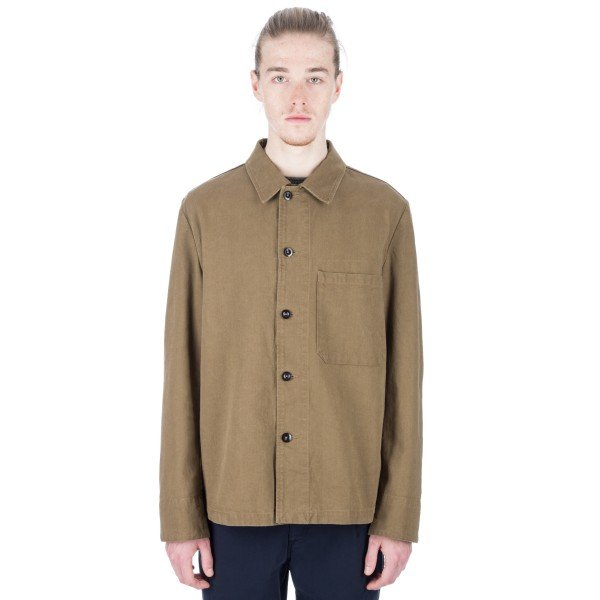 MHL by Margaret Howell Single Pocket Jacket (Tobacco)