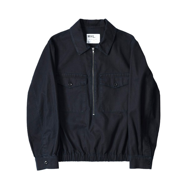 MHL by Margaret Howell Twill Overhead Jacket (Indigo)