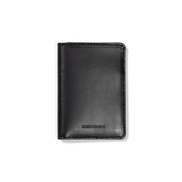 Norse Projects Bastian 10 Wallet (Black)