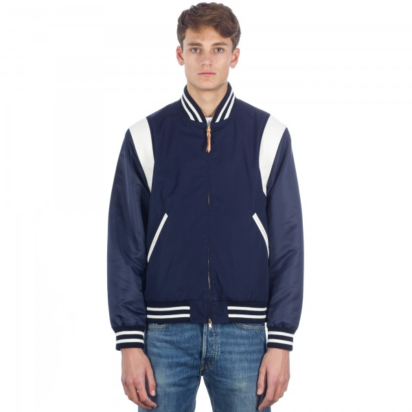 Nanamica 65/35 Varsity Jacket (Navy/Blue)