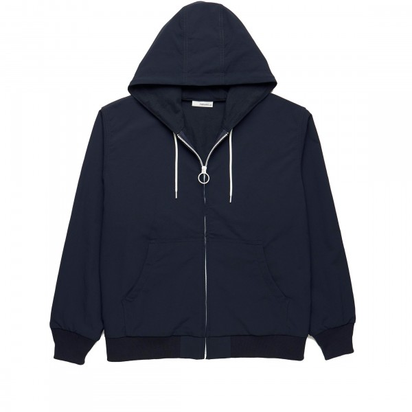 nanamica ALPHADRY Hooded Jacket (Navy)