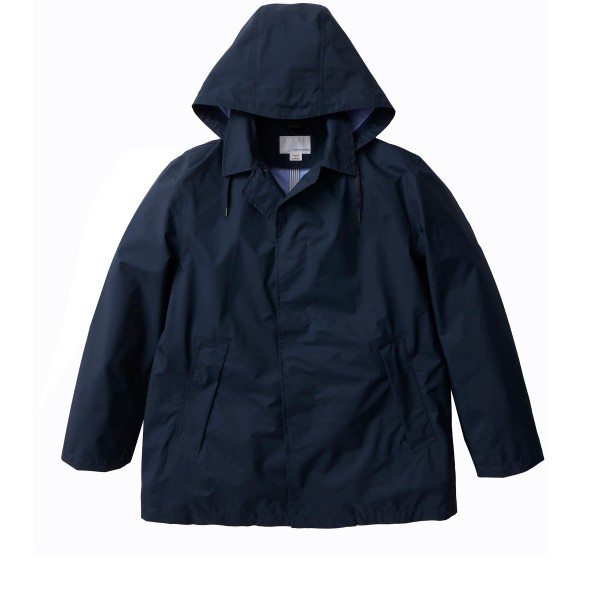 nanamica GORE-TEX Short Soutien Collar Coat (Navy)