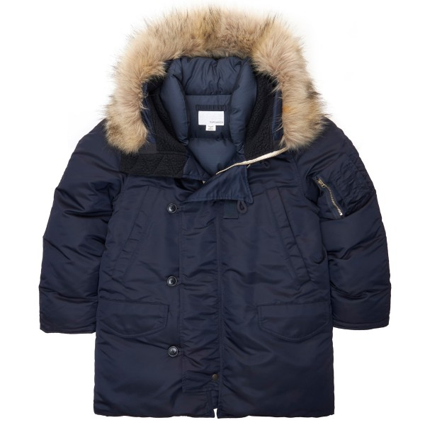 nanamica Harbor Down Coat (Navy)