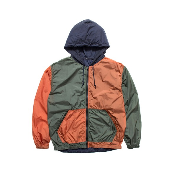 nanamica Packable Cruiser Jacket (Orange/Khaki/Navy)