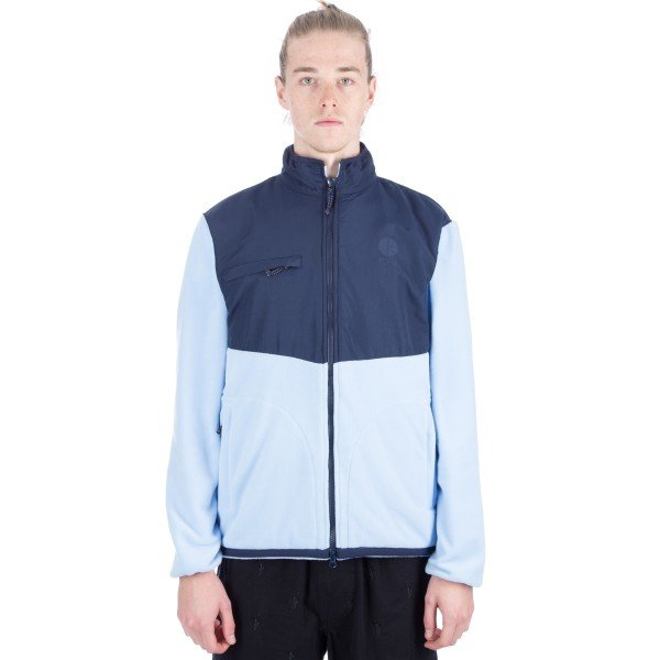 Polar Halberg Fleece Jacket (Navy/Powder Blue)