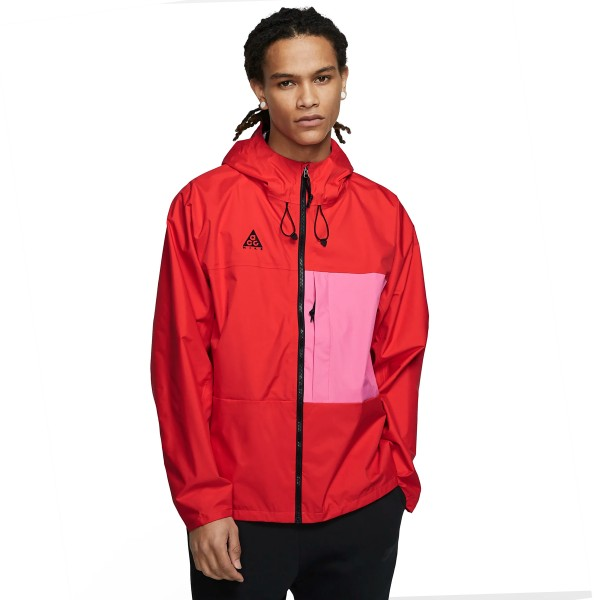 Nike ACG 2.5L Packable Jacket (Habanero Red/Lotus Pink)
