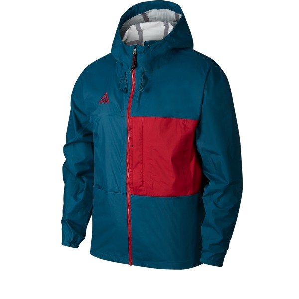 Nike ACG 2.5L Packable Jacket (Midnight Turquoise/Noble Red)