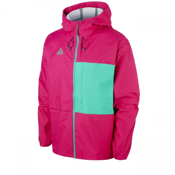 Nike ACG 2.5L Packable Jacket (Sport Fuchsia/Lucid Green)