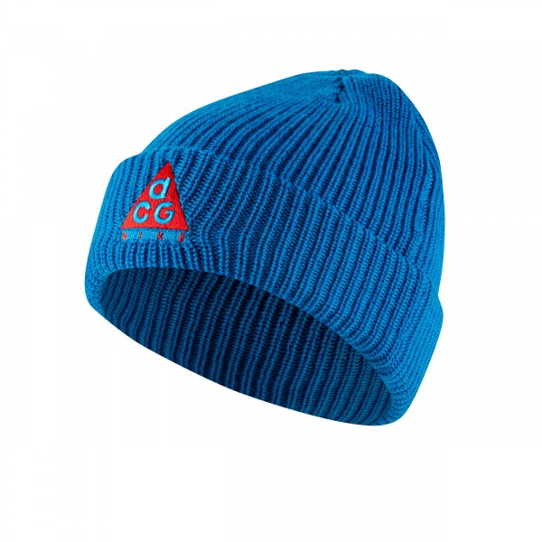 Nike ACG Beanie (Imperial Blue/Habanero Red)