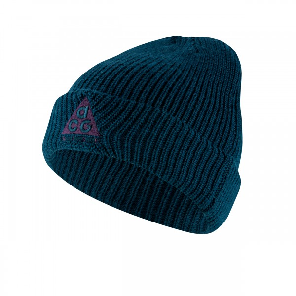 Nike ACG Beanie (Midnight Turquoise/Grand Purple)