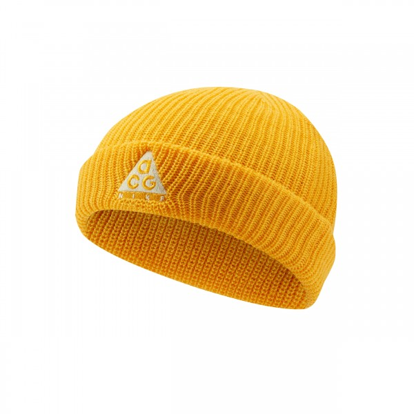 Nike ACG Beanie (University Gold/Luminous Green)